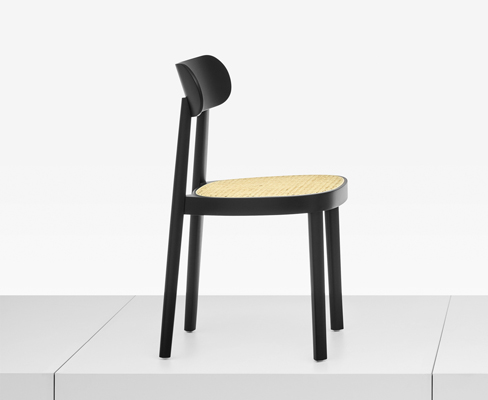 The New Chair Range 118 Refers To 214 Archetype Of A Thonet With Seat Frame Bent From Single Piece And Wicker Cane